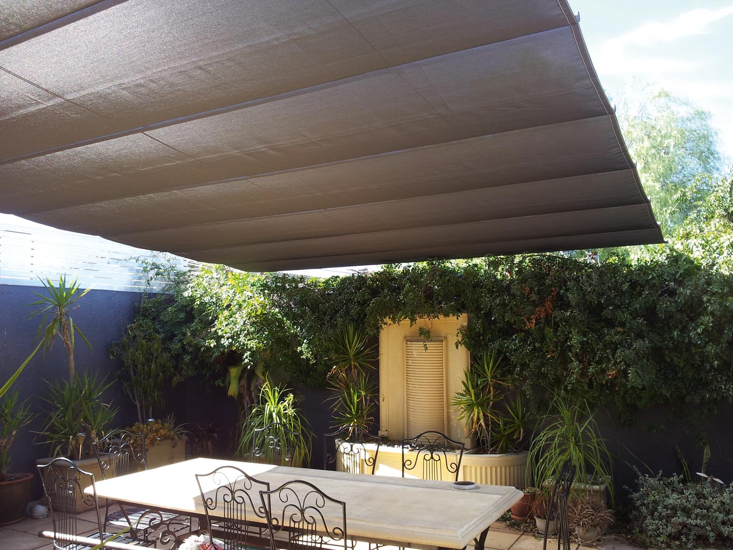 Head for cover: flexible shade ideas