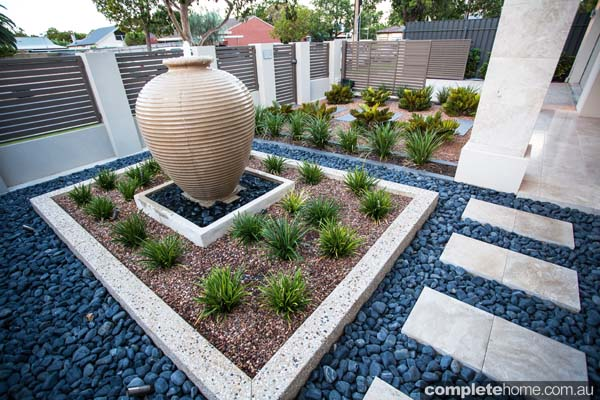 This Adelaide garden has a resort-style ambience and space-enhancing layout