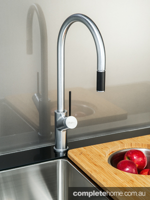 High in quality, high in design and made in Italy for the Australian high life, available in early 2014, the new Vilo tapware collection by Oliveri includes four high-quality mixer designs for your kitchen, all offered in a chrome or brushed stainless-steel finish to best complement your kitchen appliances.