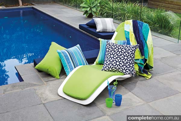 Complete your alfresco living space with long-lasting weatherproof outdoor cushions