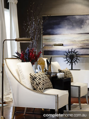 Home Renovation interior design - gorgeous chair