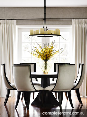 Home Renovation interior design - dining room