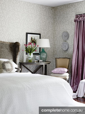 Home Renovation interior design - feminine bedroom
