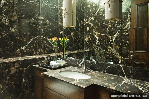 Elegant Loondon mansion apartment renovation - ensuite bathroom