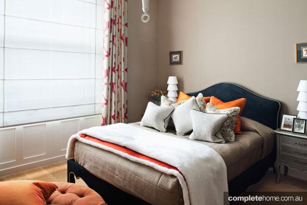 Elegant Loondon mansion apartment renovation - bedroom design
