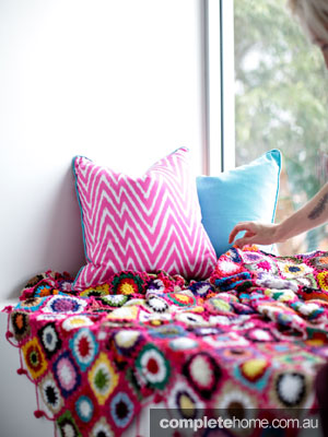 Mismatched prints - handmade blankets from Milly and Eugene