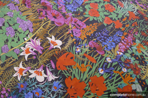 Mismatched prints - Anna's garden fabric