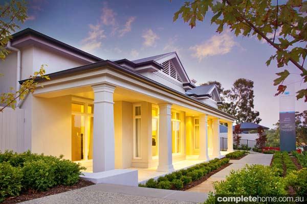 Inside and out, this beautiful residence boasts sophistication and style