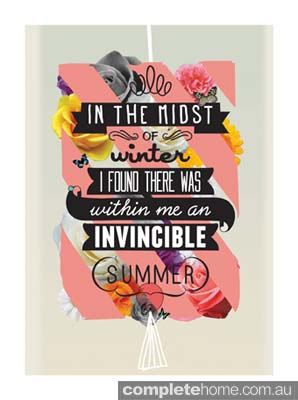 1. The Invincible summer by Kavan & Co