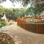 An enchanting eco-friendly coastal garden