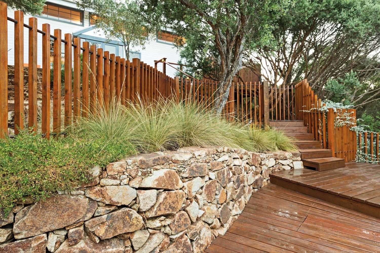 An enchanting eco-friendly coastal garden