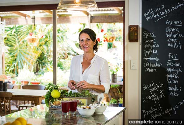 At home with chef Dominique Rizzo and designer Lee Hardcastle