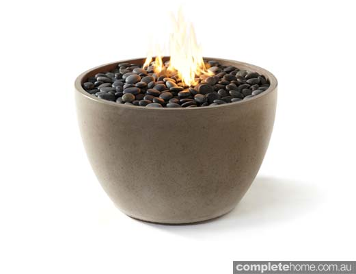 the Soba firebowl from PALOFORM