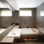 Contemporary bathroom renovation