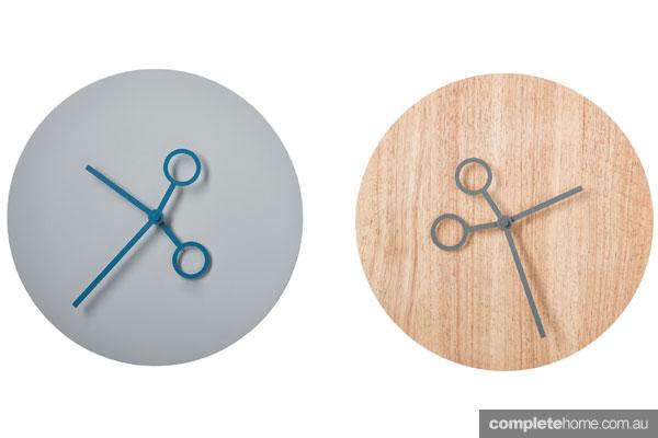 Boconcept scissor clocks craft inspired interior