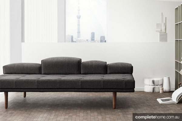 Boconcept fusion sofa charcoal interior