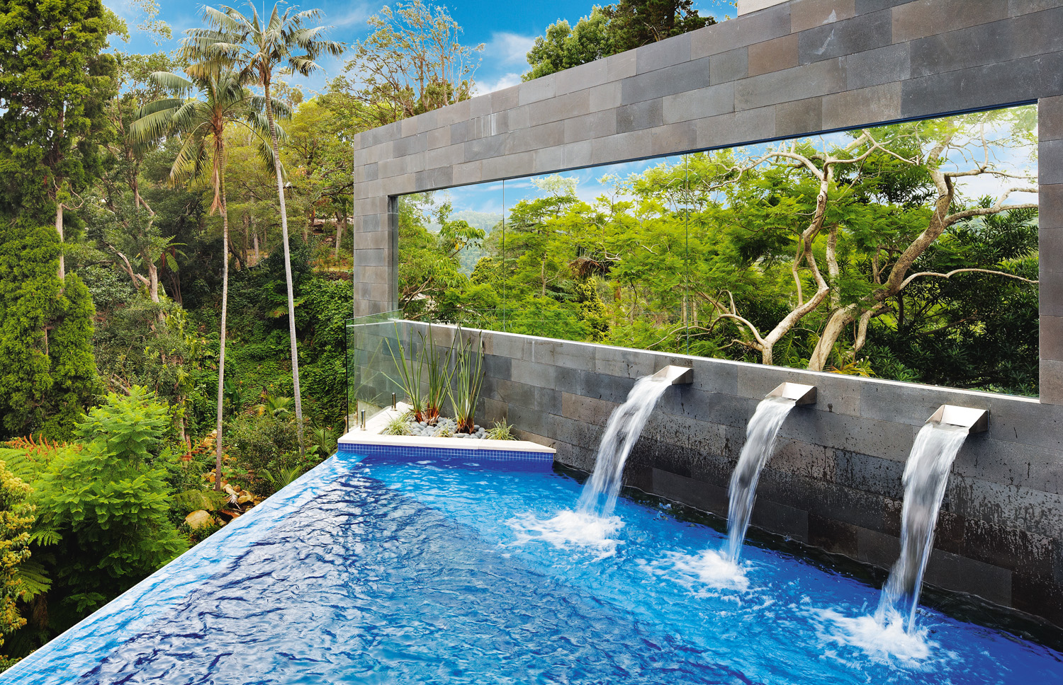 Mirror mirror pool design perfection completehome for Pool design names
