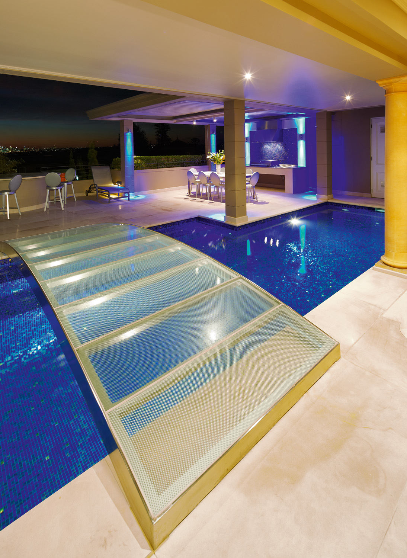 Pool design bridges the gap