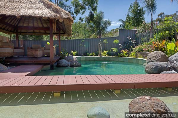 Eads Natural Pool And Backyard Resort : Natural beauty Backyard escape  Completehome