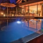 Delightful modern pool design