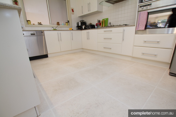 after using the rejuvenation grout