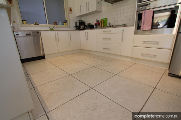 before using the rejuvenation grout