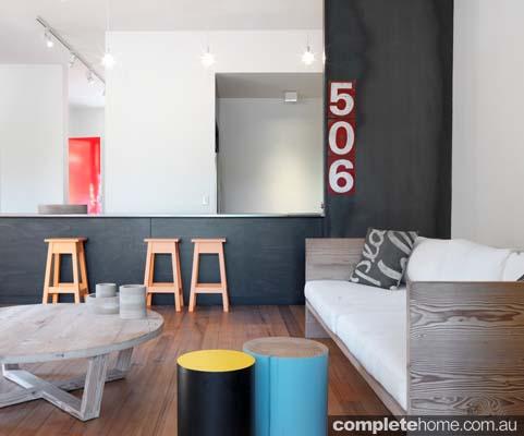 Transformed house interior