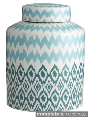 Ceramic Ikat Jar