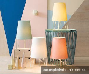 Layers of lamps for a whole new look