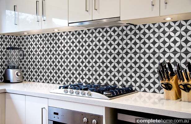 kitchen feature tiles age splashback style completehome 1616