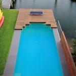 Contemporary poolside rejuvenation