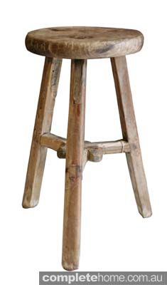Chinese Worker Stool