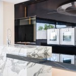 Modern glossy kitchen