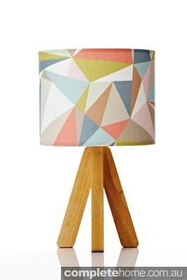 Tipi retro table lamp