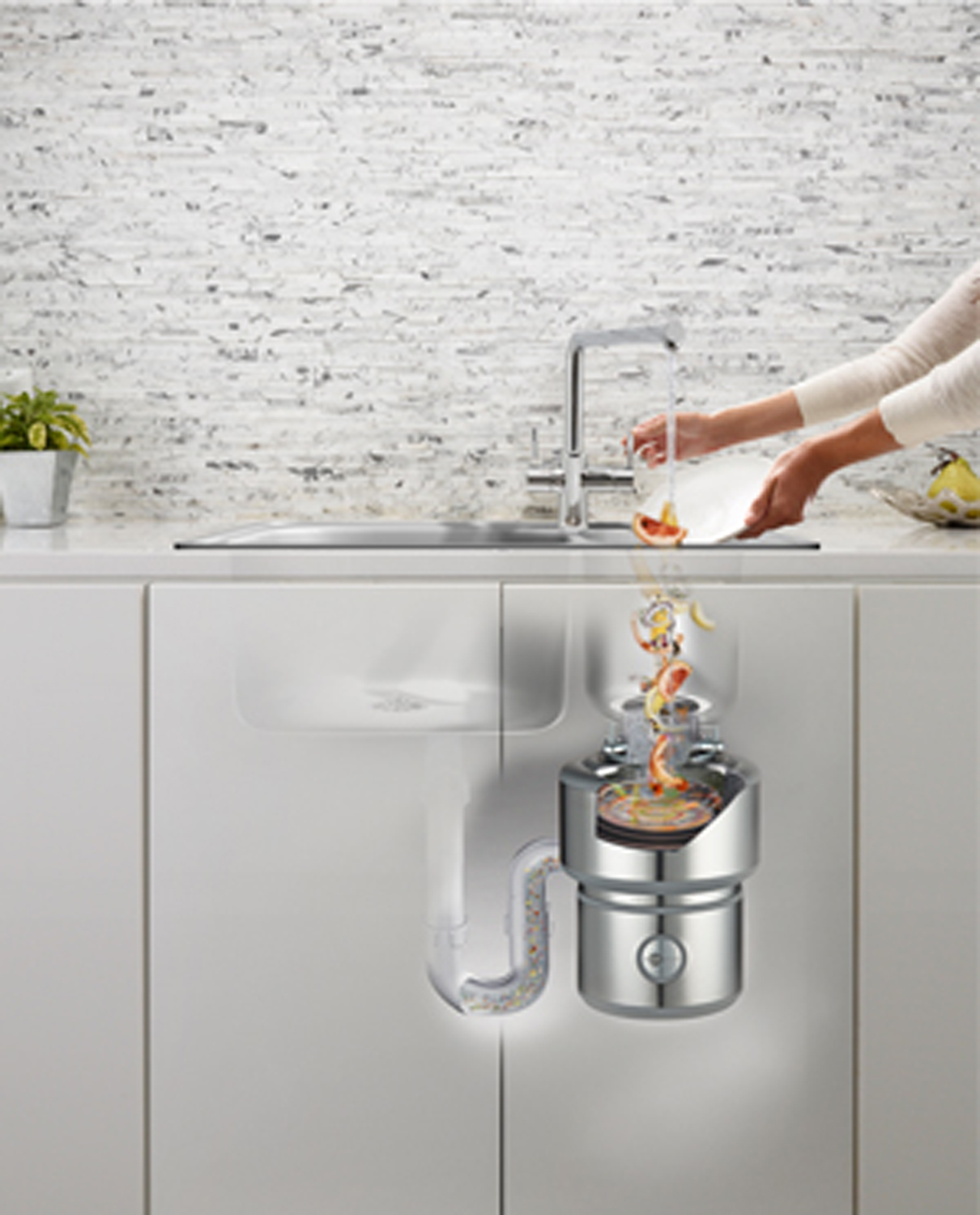 Waste disposer: essential for modern kitchens