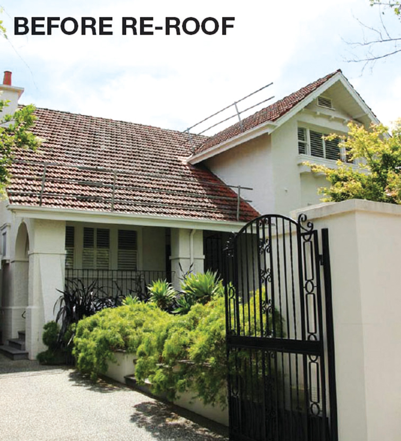 BeforeRe-Roof