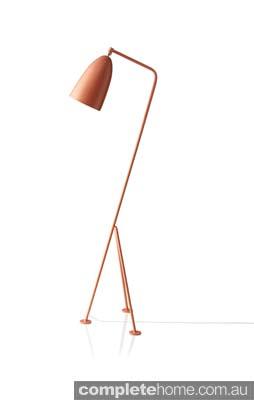 Gräshoppa lamp