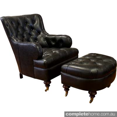 Bogart leather chair