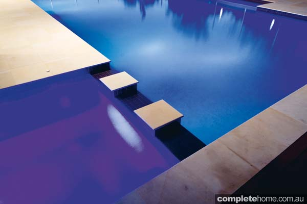 This pool is a breathtaking example of creating the complete entertaining package for use all year in a classic home.