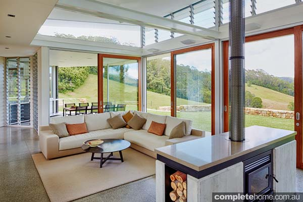Grand designs australia rural bliss completehome for Holiday home designs australia