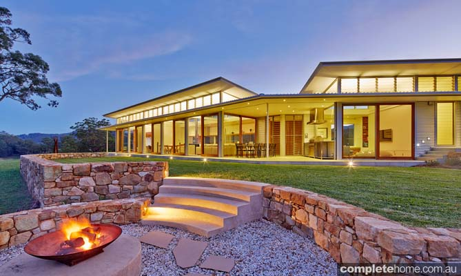 Grand designs australia rural bliss completehome for Rural home designs nsw