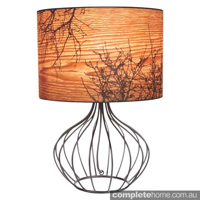 Autumn table lamp