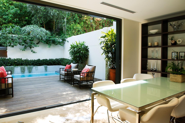 Contemporary, private abode