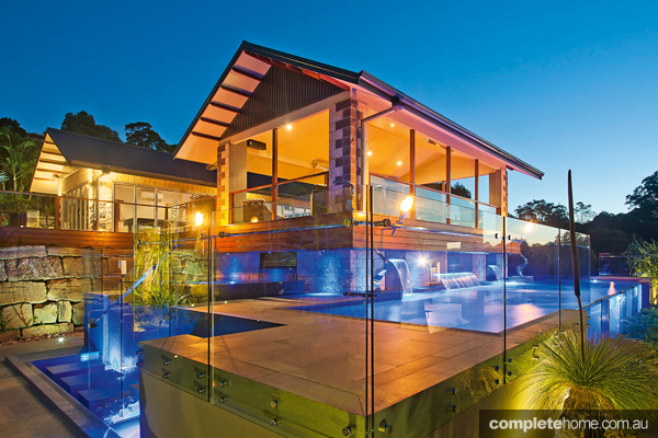 With the right LED lighting you can completely transform the look of your pool
