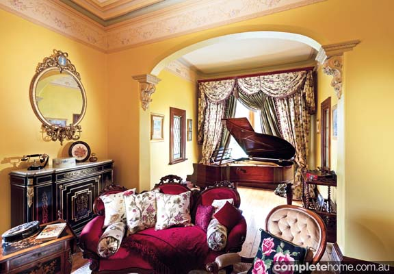 piano room period style