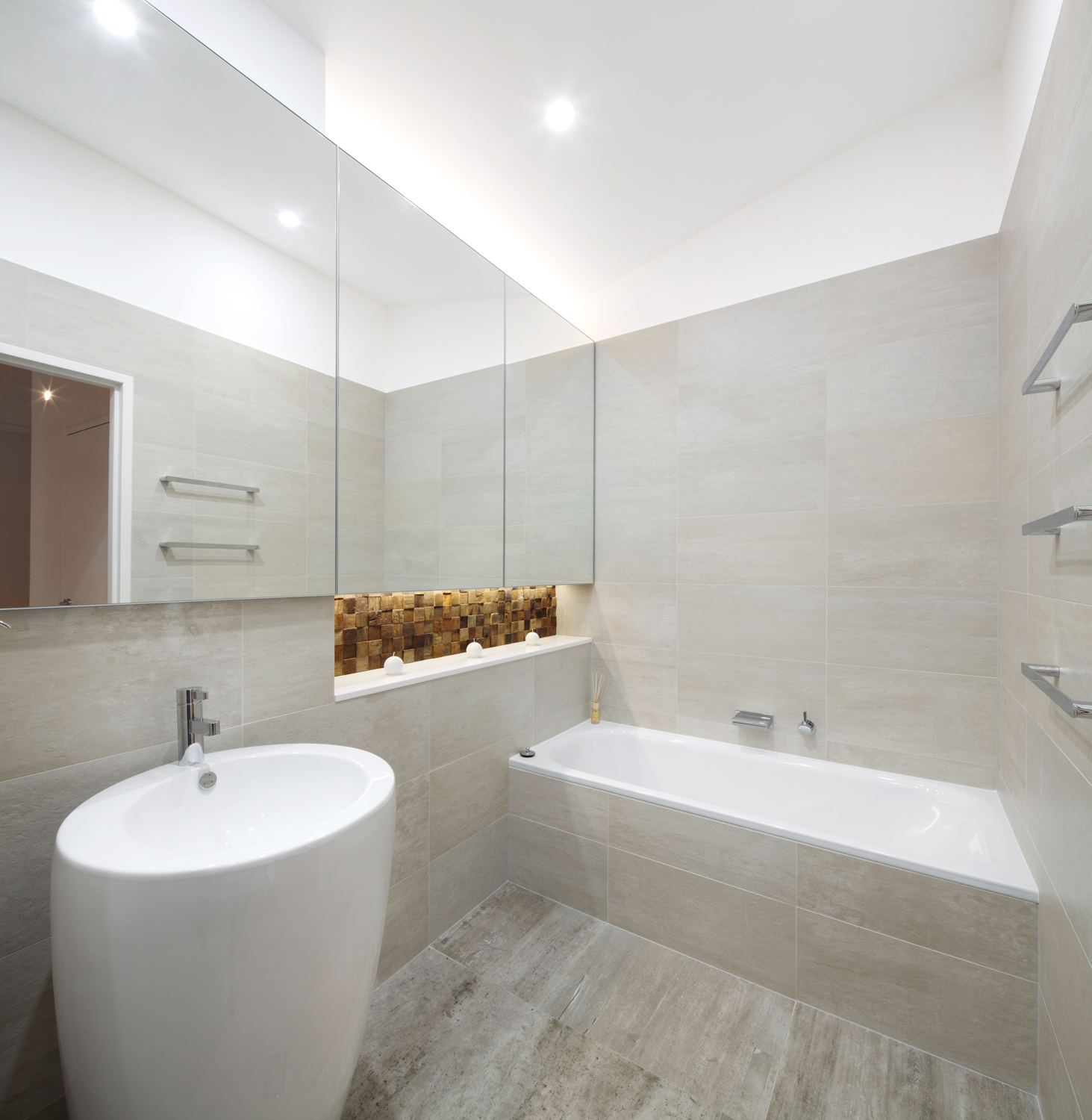 Modern Bathrooms Bathroom Design Recycle With Style Completehome