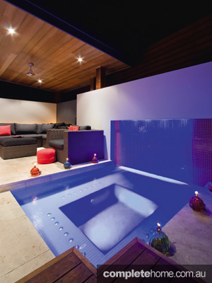 What better way to relax in your outdoor area than in a spa or hot tub?