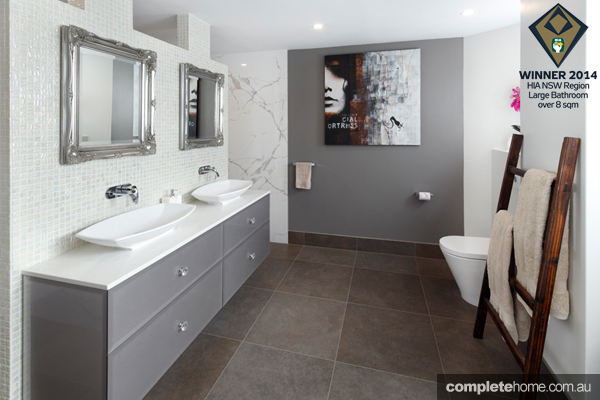 Brindabella Bathrooms celebrated its success at the 2014 HIA-CSR NSW Housing and Kitchen & Bathroom Awards on Saturday 18th October.