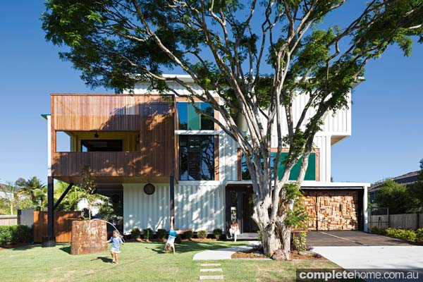 Grand designs australia shipping container completehome - Australian container homes ...