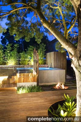 Landscape Design, Above Ground Pool, Timber Deck